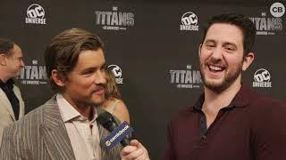 Brenton Thwaites Talks Titans