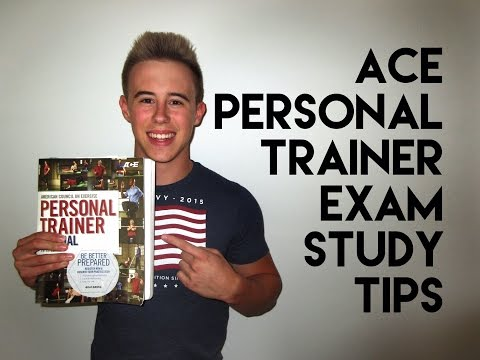 ACE Personal Trainer Exam - Study Tips - YouTube