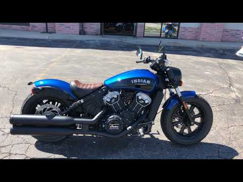 2019 Indian Scout® Bobber ABS Icon Series in Muskego, Wisconsin - Video 1