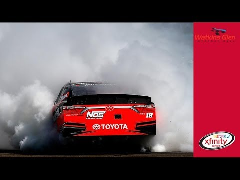 Finally! Kyle Busch burns it down after big win for JGR
