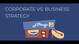 Corporate vs. Business Strategy