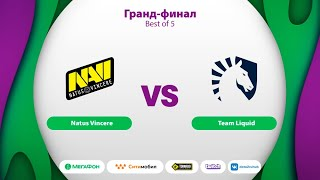 Natus Vincere vs Team Liquid, MegaFon Winter Clash, bo5, game 1 [Maelsorm & NS]