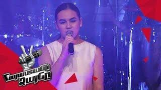 Anna Danielyan sings 'Մայրամուտ' - Knockout – The Voice of Armenia – Season 4