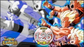 REACHING NEW HEIGHTS! LEVEL 125 OF THE FAMILY KAMEHAMEHA EXTREME Z EVENT! (DBZ: Dokkan Battle)