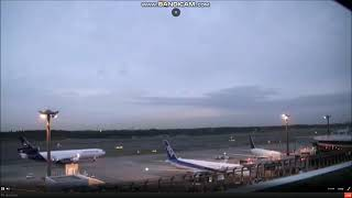 昨日録画成田空港に関空行きだったルフトハンザカーゴが飛来しました!!
