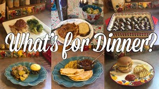 What's for Dinner?| Family Meal Ideas| January 28th- February 3rd, 2019