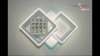 Видео о 6818/2 - SL RGB WH led (W+10W) люстра