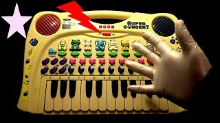 My Kids 'Super Concert' Toy Keyboard Part 2 of 2