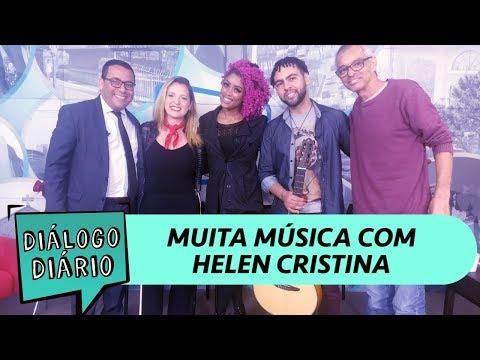 Diálogo Diário recebe a cantora Helen Cristina e o advogado Leonardo Dominiqueli