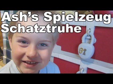 Ash's Spielzeug Schatztruhe Ash zeigt seine Spielsachen Kanal für Kinder Kinderkanal