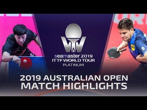 Ma Long vs Dimitrij Ovtcharov | 2019 ITTF Australian Open Highlights (R16)