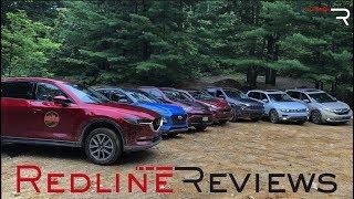 2018 Ultimate Compact SUV Off-Road Comparison – Redline: Review