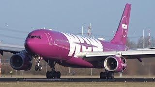 BIG Aircraft Landing at Runway 18C & 18R Schiphol Airport | Kholo.pk