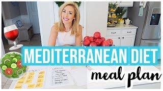 MEDITERRANEAN DIET MEAL PLANS 🥗🍷 | Brianna K