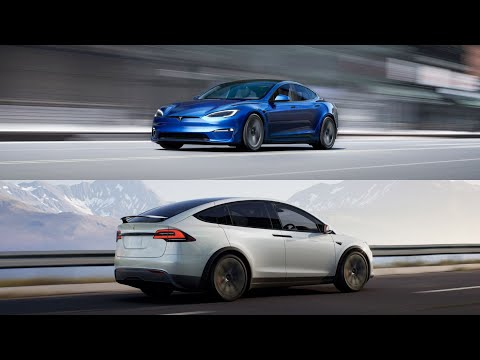 The All-New 2021 Tesla Model S and Model X   Interior & Exterior