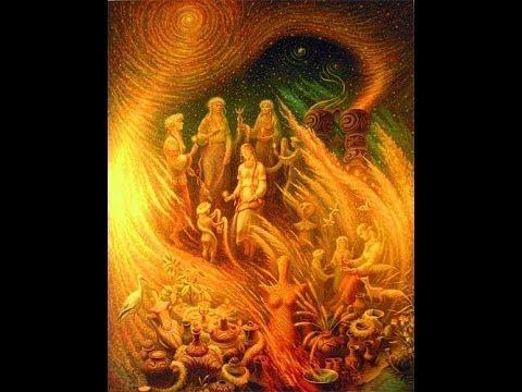 Слов'янські Боги на картинах Віктора Крижанівського - YouTube