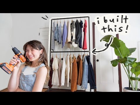 HOW TO BUILD A CLOTHING RACK ft. my ex-bosses