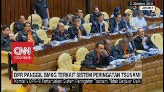 DPR-RI Panggil BMKG terkait Sistem Peringatan Tsunami