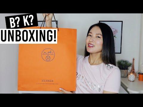Hermès bag unboxing 2020   Birkin or Kelly?