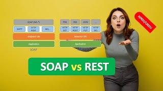 WEB SERVICES SOAP vs REST in HINDI
