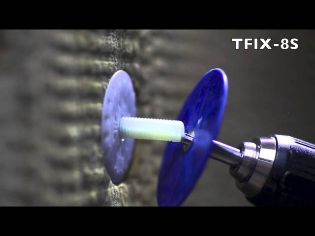 TFIX 8S Skrūvējams siltumizolācijas stiprināšanas dībelis.