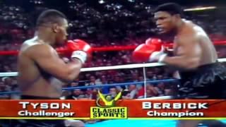 Бокс - 22.11.1986.   Майк Тайсон vs Тревор Бербик. Нокаут