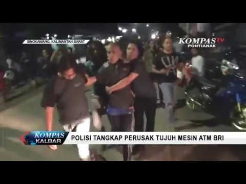 Polisi Tangkap Perusak Tujuh Mesin ATM BRI