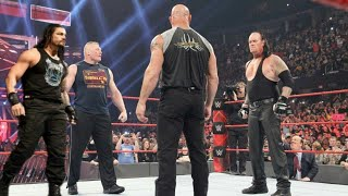 WWE 20 July 2019 : Roman Reigns Vs Brock Lesnar Match Highlights   WWE RAW 20 July 2019 Highlights