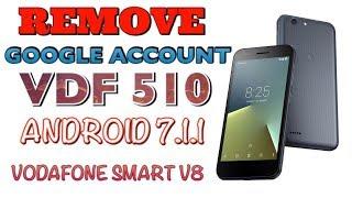 Bypass Google Account Vodafone Smart prime 7 Remove FRP VDF 600
