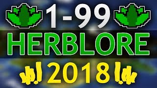 [OSRS] Ultimate 1-99 Herblore Guide  (Fastest/Cheapest of 2018)
