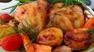 Очень Вкусная Курица в Духовке | Roasted Chicken