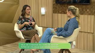TV Aparecida - Programa Manhã Leve - Exposição de crianças nas Redes Sociais