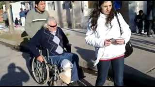 preview picture of video 'Angel Celi recorriendo el barrio Nueva York favorable respuesta de los vecinos'