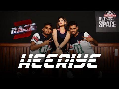 Heeriye | Dance Fitness Choreography by Vijaya Tupurani | Race 3 | Meet Bros