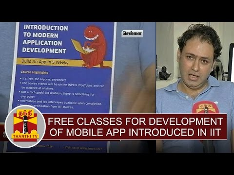 Free-Classes-for-Development-of-Mobile-App-introduced-in-IIT-Chennai-Thanthi-TV