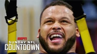 Aaron Donald's basement gym shaped him into the player he is today | NFL Countdown