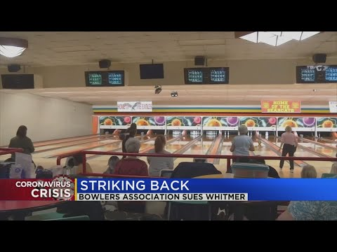 Bowling centers in Michigan suing Whitmer over reopening