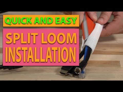 The Best Split Loom Tool Around. Period.