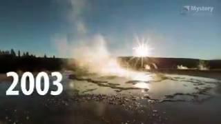 Пробуждение супер вулкана, очень интересное видео