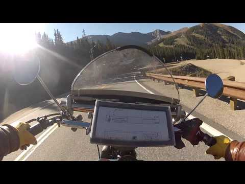 Ride a 1936 Harley On Motorcycle Cannonball - Loveland Pass