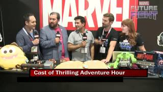 Thrilling Adventure Hour Winds Down on Marvel LIVE! at San Diego Comic-Con 2015
