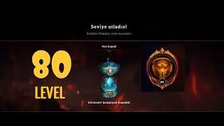 League of Legends | 80 LEVEL OLDUM