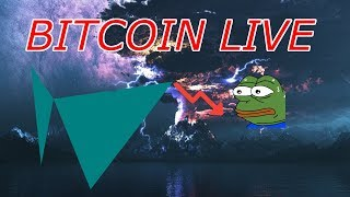 Bitcoin LIVE : How Low Can We Go?! Episode 595 - Crypto Technical Analysis