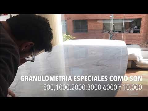 BRILLO Y CRISTALIZADA DE MESAS DE CENTRO, Y COMEDORES
