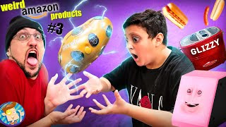 SHOCK POTATO & a GLIZZY Toaster??  Amazon Weird Products Part 3 (FV Family)