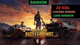 "[Hindi] PUBG Mobile | ""20 Kills"" In Sanhok Solo Vs Duo Situation"