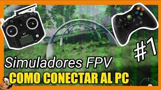 Que controles hay para simuladores FPV y como conectar PC (liftoff Velocidrone DRL y otros)