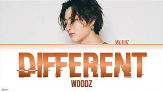 WOODZ   'DIFFERENT' LYRICS [HAN|ROM|ENG COLOR CODED] 가사