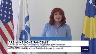 RTK3 Lajmet e orës 23:00 11.08.2020