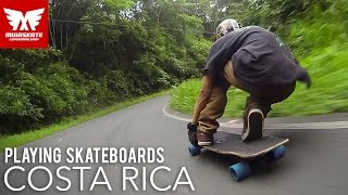 Playing Skateboards | Costa Rica with Scott Lembach | MuirSkate Longboard Shop